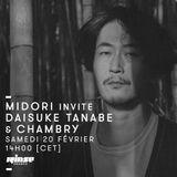 Menace: Midori invite Daisuke Tanabe (Live) & Chambry (100% tape mix) - 20 Février 2016