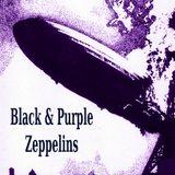 Black & Purple Zeppelins [1968 to 2017] feat Black Sabbath, Deep Purple, Led Zeppelin & Offshoots