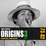 Origins 3 Side B - House Music Pioneers: The Chill (1973-82)