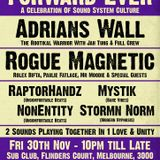 Forward Ever: Rogue Magnetic meets Adrians Wall Friday 30th November 2018