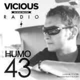 Humo 43 on Vicious Radio 18/08/2014