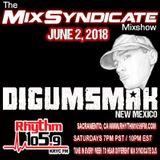 THE MIX SYNDICATE MIXSHOW ON RHYTHM 105.9 FM .. DJ DIGUMSMAK .. 6-2-2018