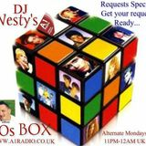 Westy's 80s Box 17th November 2014 11pm - 12am Uk time