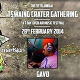 Gavo @ Tswaing Crater Gathering 1 March 2014