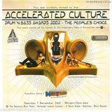 Mampi Swift Accelerated Culture 'Drum n Bass Awards' 7th Dec 2002