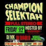 DJ Diablo Champion Selektah Promo Mix 2015