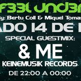 C4N Y0U F33L UND3R6R0UND 032 Radioshow by Bertu Coll & Miquel Tomás (Guest Mix: &ME)