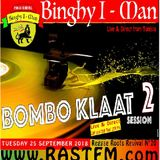 """Reggae Roots Revival 20 the """"bombo klaat"""" session part 2 live Rastfm radio show with Binghy i-man"""