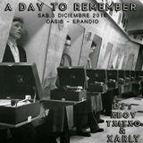 "SESION DE RESACA ""A DAY TO REMEMBER"" BY TXITXO DJ"