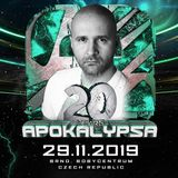 Mario Ranieri @ Apokalypsa 20 Years Anniversary, Bobycentrum Brno, Czech Republic 29.11.2019