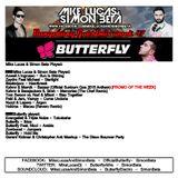Week 47 2015 - Mike Lucas & Simon Beta Guestmix by Butterfly - Bangerang Radio Show