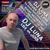 DJ Luna Presents House Of Love Live On HBRS  13 -12 - 17