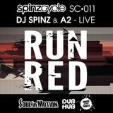 DJ Spinz & MC A2 live at Run Red - SpinzCycle ep011
