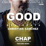 Chapcast //// GOOD RESIDENTS Live Stream Por el 92.1 SoGood FM Grupo Rivas
