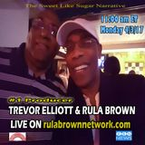 TREVOR ELLIOTT of Musical Ambassador & RULA BROWN - Sweet Like Sugar Rap, Sugar Minott, Edi Fitzroy