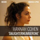 DAUGHTERNUMBERONE by Hannah Cohen