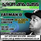 DJ Limited B2B Telekom & MC Fatman D & MC Boxer Banton - Future Radio - May 24th 2014.