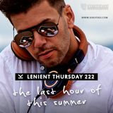 DJ Kutasi - Lenient Thursday 222 THE LAST HOUR OF THIS SUMMER 20-08-2015