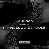 Cadenza Podcast | 151 - Francesco Bergomi (Source)