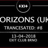 Horizons @ Trancesated #8, Brno (CZ) - 13-04-2018