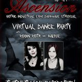 Club Ascension live tonight at 10 pm Pacific