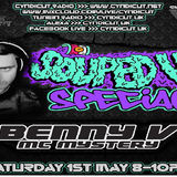 BENNY V (SOUPED UP RECORDS) LIVE ON CYNDICUT RADIO - SAT 1ST MAY 8PM GMT