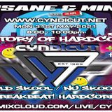 Special Guests Insane and Mind will be live today at 8pm (History of Hardcore)