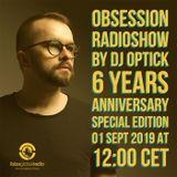 Tracklist Dj Optick - Obsession - Ibiza Global Radio 01.09.2019 6 Years Edition