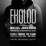 Ekolod 11 October Featuring Mikael Jonasson & Werewolves On Motorcycles - Part 1