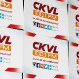 CKVL - 100,1 FM à Montréal