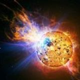 Incinerating Solar Flare