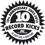 Record Kicks podcast series – episode 4: B-Dub