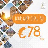 Tour du lịch Châu Âu Dế Việt