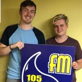 """#2 """"How do you hold a pencil again?"""" Nathan Dyer and Taylor Clark on Uckfield FM"""