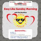 19/03/17 Easy Like Sunday Morning on RedShift Radio with Paul Boniface