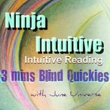 3 Mins Intuitive Blind Quickies - Focus Matters