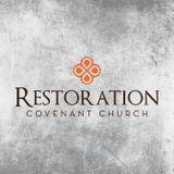 Sermon Blog - Restoration Cove