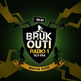 BRUK OUT! #177 (23. 11. 2018) - Dancehall Show @ Radio 1 (CZ) - with Jah Atom