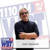 John Hancock April 11 2017, Hancock Reflects on Hall of Fame, I Read The News, Time Travel, Job Inte