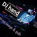DJ hand