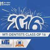 Dentistry of MTI 2016