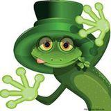 Glibber Frosch