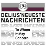 Delius' neueste Nachrichten