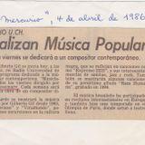 musiclaje, el programa