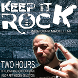 Keep It Rock With Dunk MacKellar 29/07/2019 Complete Two Hour Rock Radio Show
