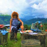 Natassa Mitsika - Curly Nomad
