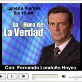 PROGRAMA LA HORA DE LA VERDAD TITULARES VIERNES 14 DE AGOSTO DE 2.015