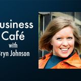 "Business Café – Lessons for the Entrepreneur in ""the Transition"" with guest Marcy Stahl"