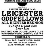 5th Anniversary Oddfellows allnighter, 20/21 March 1987, Ady Croasdell, Gary Rushbrooke, Keb etc