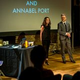 GEOFF LLOYD & ANNABEL PORT AT THE ROUNDHOUSE 9TH APRIL 2017